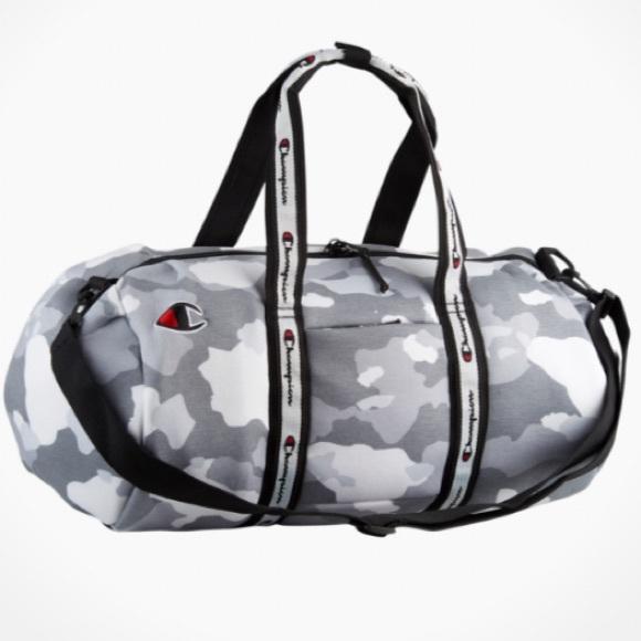 9cacf20ae5f9 Champion - Attribute Duffel Bag (Grey Camo)